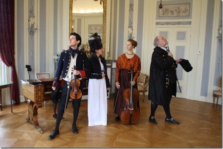 Het klassiek ensemble Café Haydn gaat terug naar de tijd van Jane Austen.