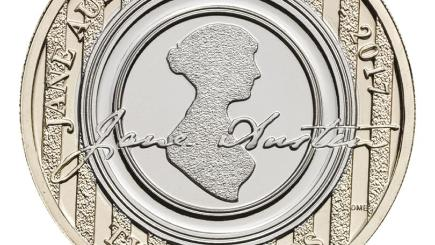 Jane Austen ook op Britse munt
