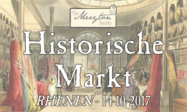 Kom naar de Historische Markt van The Meryton Society