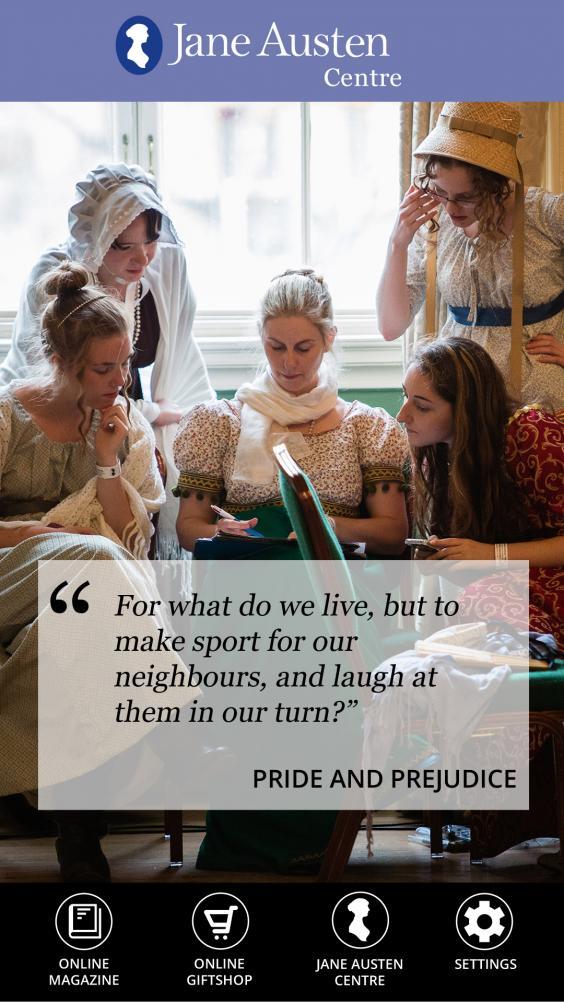 Dagelijks een Jane Austen quote op je mobiel