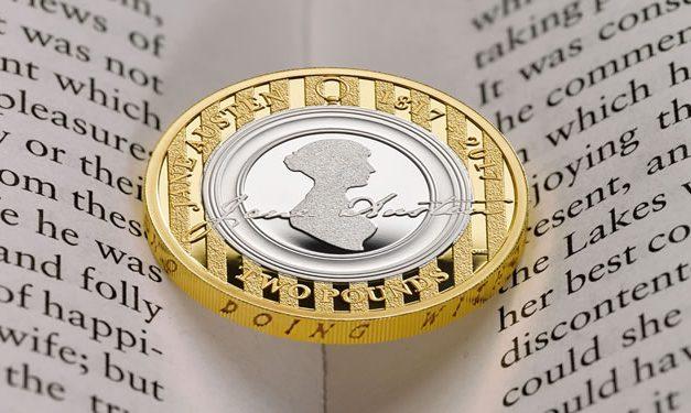 Nu te koop: Jane Austen op 2-pondmunt