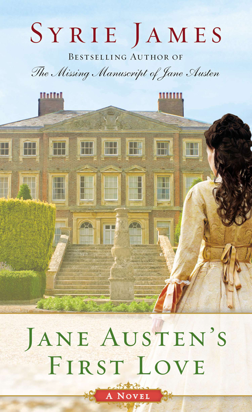 Nu in de winkels: Jane Austen's First Love van Syrie James