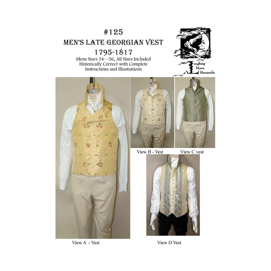 Men's Late Georgian Vest