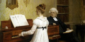 Leighton_Edmund_Blair_The_Piano_Lesson