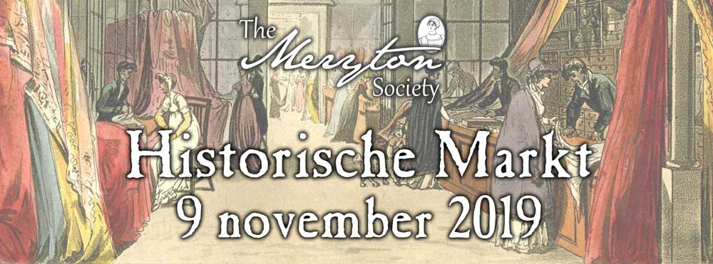 9 november: Historische Markt van The Meryton Society