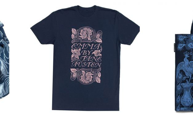 Bestel nu jouw Austen T-shirt, tas of sjaal