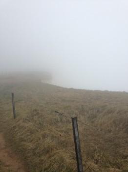 Het uitzicht bij Beachy Head.