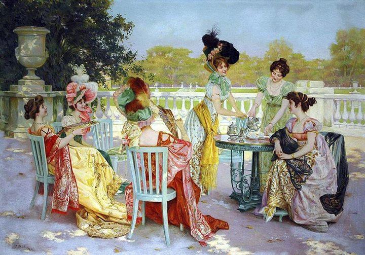 Jane Austen bijeenkomst in België