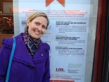Karin Quint bij Boekhandel Los in Bussum