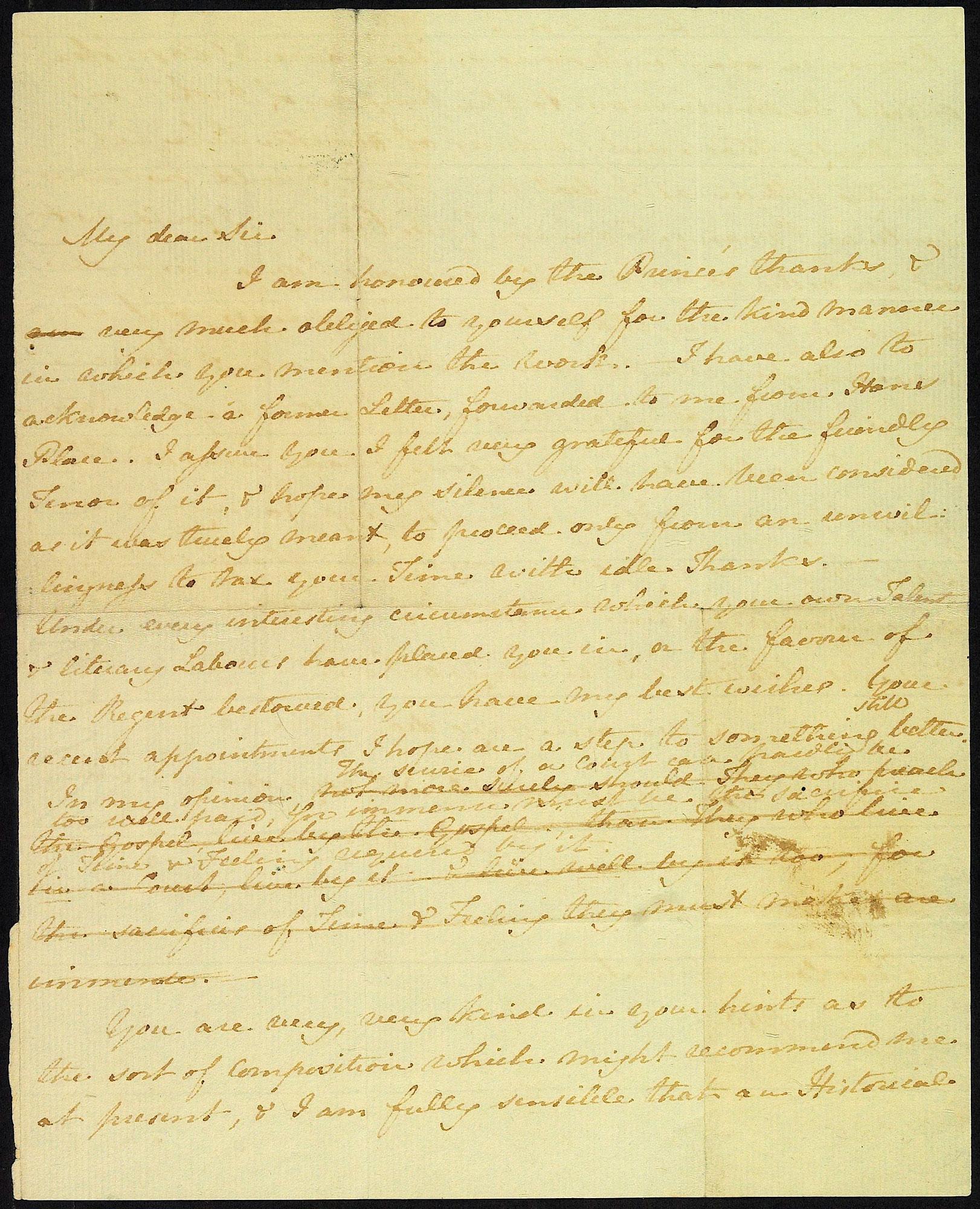 Brieven en manuscripten van Jane Austen nu online