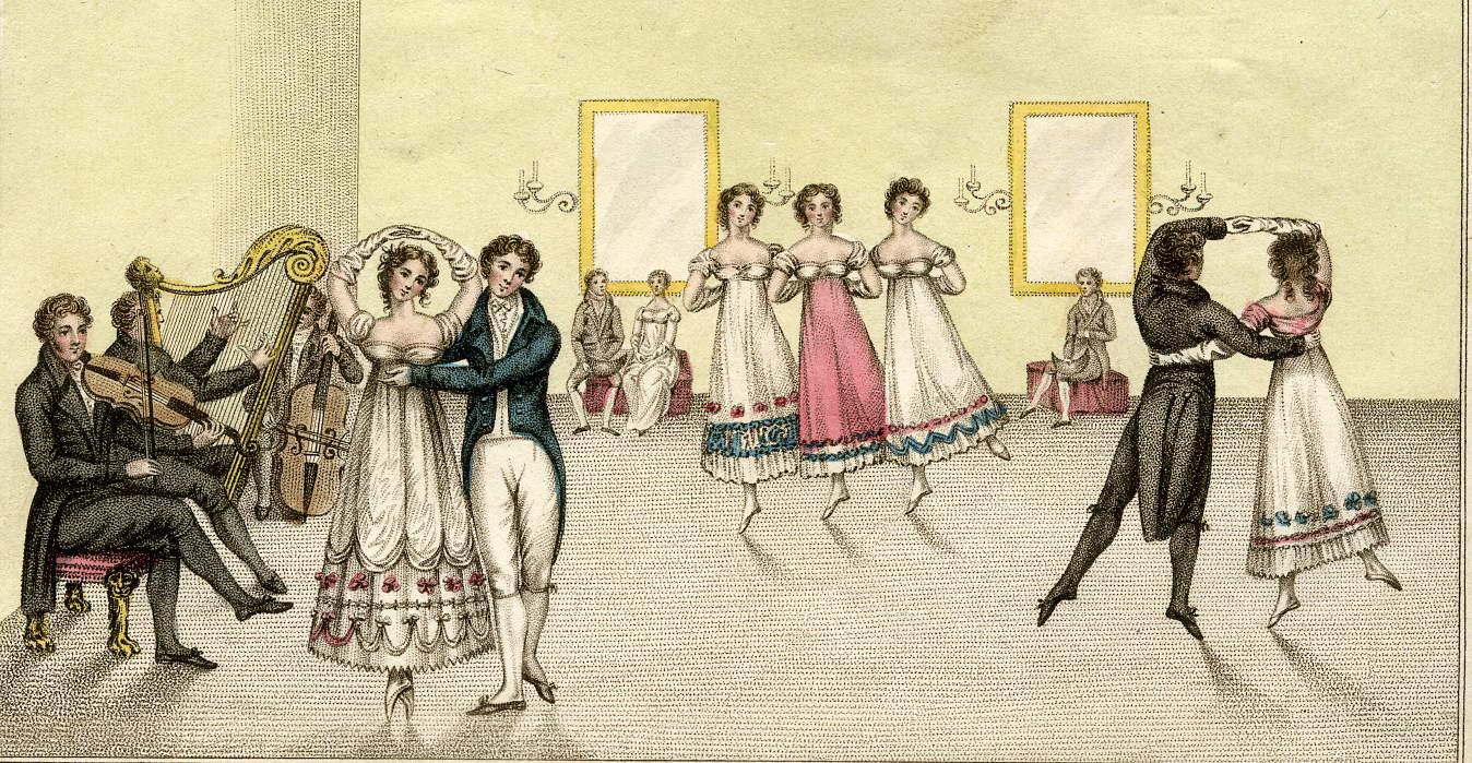 Nieuwe danslessen bij Jane Austen Society