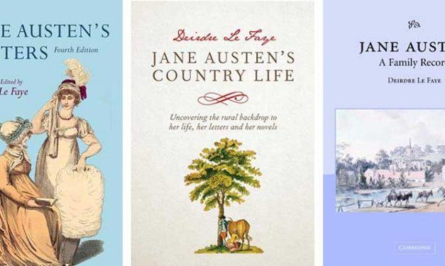 Austen-expert Deirdre Le Faye overleden