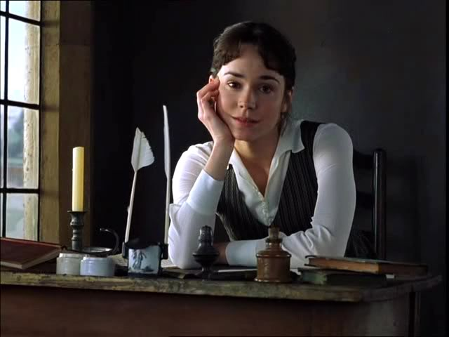 Frances O'Connor als Fanny Price in Mansfield Park.