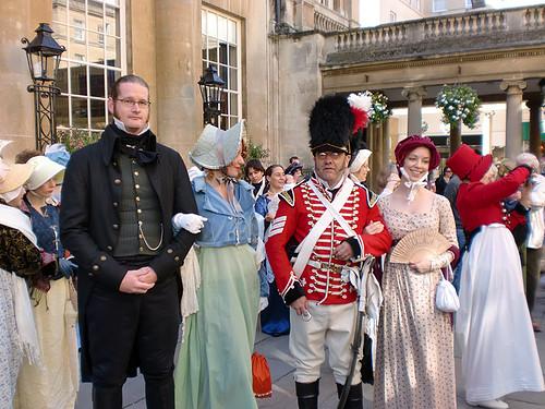 Ga met ons mee naar het Jane Austen Festival in Bath