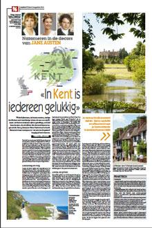 Wandelen met Jane Austen in Kent