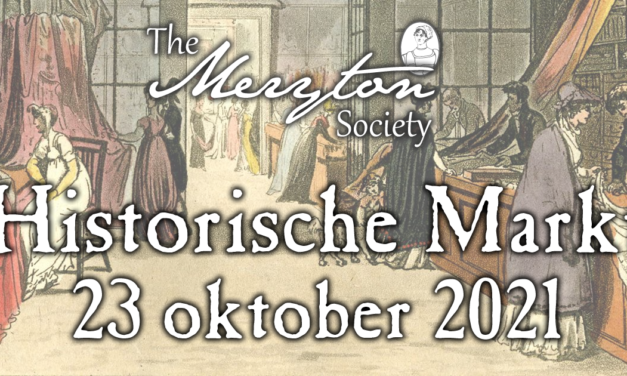 23 oktober: Historische Markt van The Meryton Society