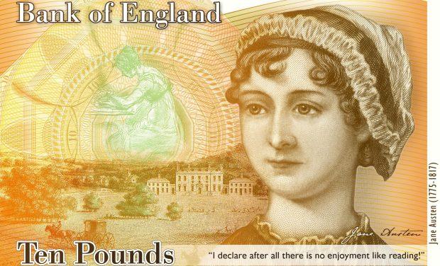 Vanaf september kun je betalen met Jane Austen