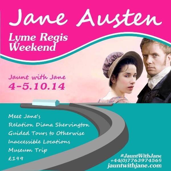 Jane Austen weekend in Lyme Regis
