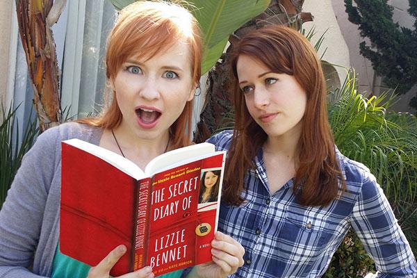 The Lizzie Bennet Diaries binnenkort als boek
