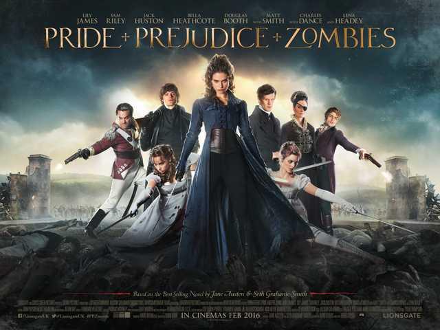 De winnaars van onze Pride and Prejudice and Zombies prijsvraag zijn …