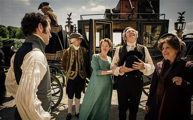 Jane Austen-kerst bij de BBC