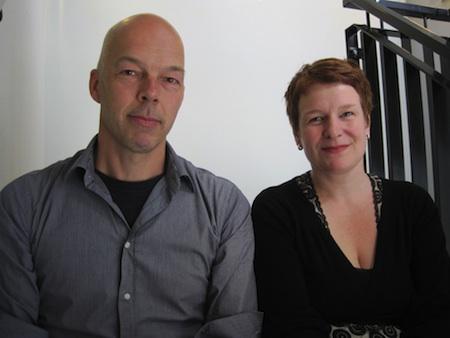 Rick de Haas en Anke Werker