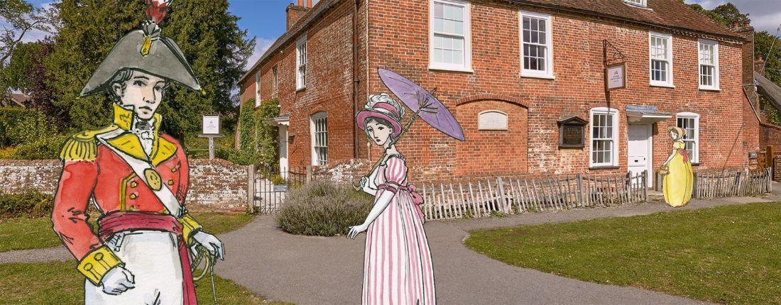 Een rondleiding door Jane Austen's House